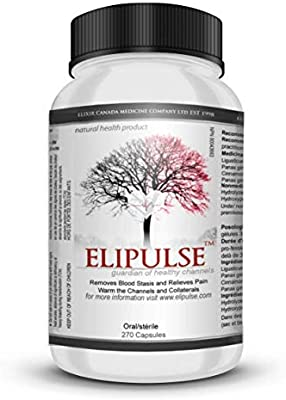 Elipulse Capsules® - Plant Based Blood Pressure Supplement, Cleans Arteries, Prevents Cardiovascular Events, Heart Supplement, Controls Blood Sugar for Adults