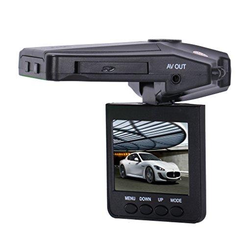 SODIAL(R) Hd Color Ir DVR 2.5inch Nightvision Car Dash Camera TFT LCD...