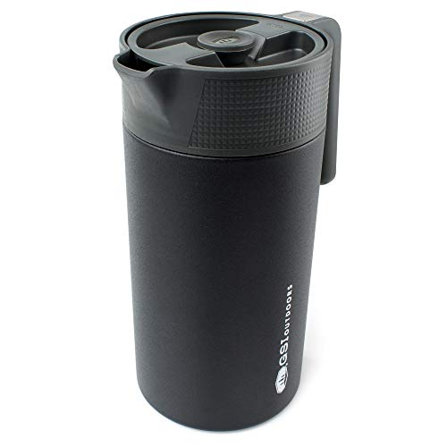 GSI Outdoors - Glacier Stainless JavaPress, 30oz Camping French Press