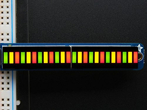 Adafruit-Bi-Color-RedGreen-24-Bar-Bargraph-wI2C-Backpack-Kit