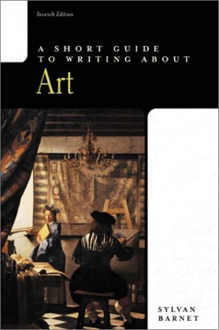 A Short Guide To Writing About Art  The Short Guide Series