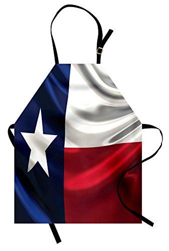Him Design (American Apron by Lunarable, Flag of Texas