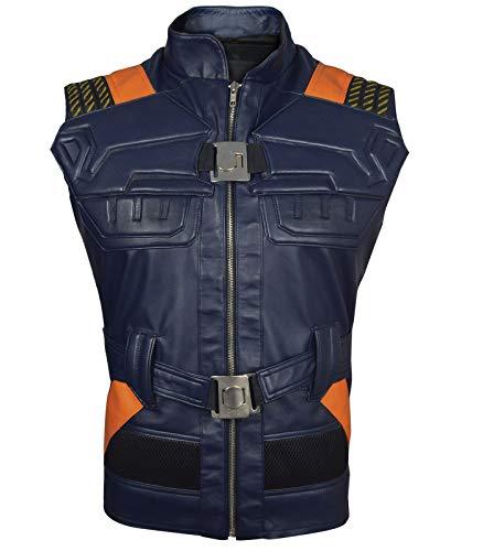 Erik Killmonger Leather Vest-MIcael B Jordan Panther Vest,S by The Jasperz