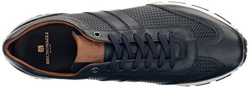 Bruno Magli Mens Ikaro Fashion Sneaker Marine