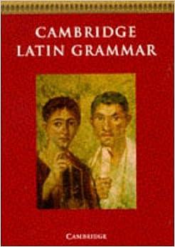 Cambridge Latin Grammar (Cambridge Latin Course): Amazon.co.uk ...