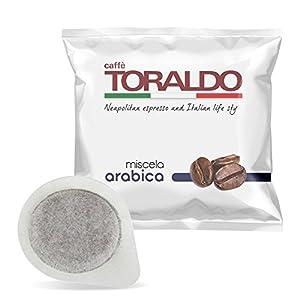 300 CIALDE CAFFE TORALDO MISCELA 100% ARABICO COMPATIBILE MACCHINE CAFFE'