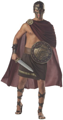 [Spartan Warrior Adult Costume - X-Large] (Mens Greek Spartan Warrior Costumes)