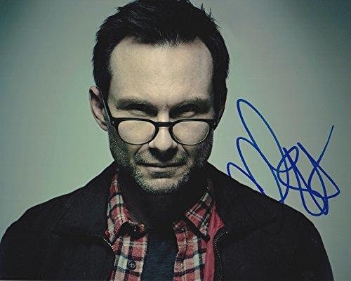 (Christian Slater signed Mr Robot 8x10 photo)