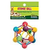 Ware Manufacturing Wood Atomic Nut Ball Pet Toy for Small Pets - Large