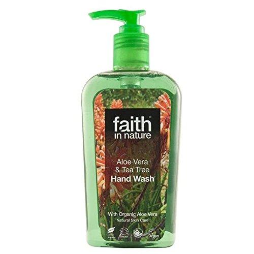 Faith in Nature Aloe Vera & Tea Tree Handwash 300ml (Pack of 6) - (Faith In Nature) 自然のアロエベラ&ティーツリー手洗いの300ミリリットルの信仰 (x6) [並行輸入品] B074PTLFCV