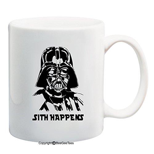 Sith Happens Star Wars Darth Vader Inspired Dark Side Funny...