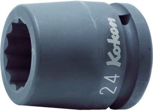 コーケン 3/4(19mm)SQ. インパクト12角ソケット 24mm 16405M-24