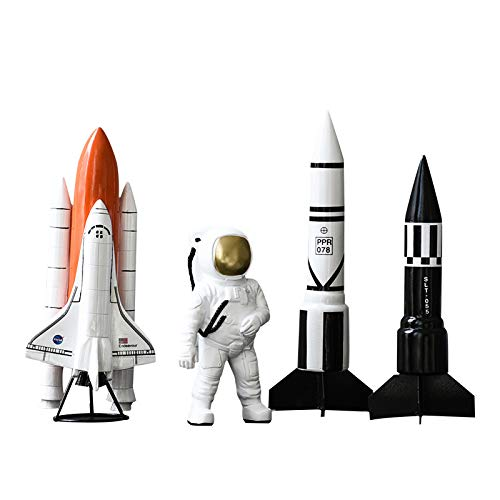 4 pcs/Set Contracted Contemporary Astronaut Decorates Resin to Put Out an Astronaut Shop Window to Display Handicraft by estinko (Image #9)