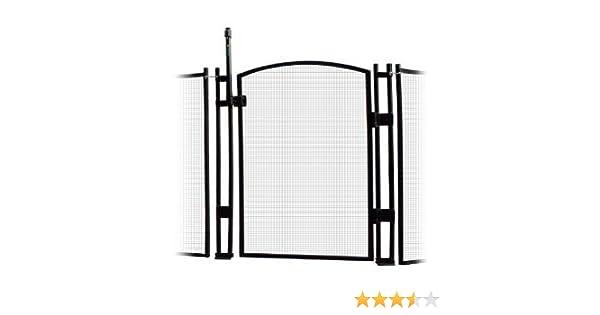 Amazoncom Sentry Safety Pool Fence Ez Guard 4 Tall Self Closing