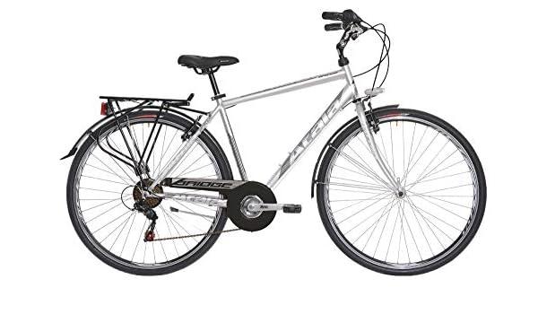 Atala - Bicicleta de hombre Bridge de 7 velocidades, modelo 2019, color gris ultraligero, talla M (165-180 cm): Amazon.es: Deportes y aire libre