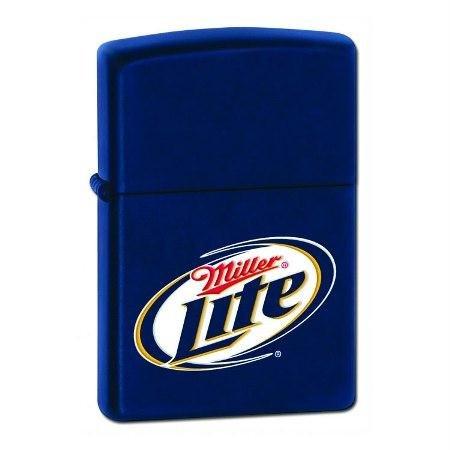 Zippo Miller Lite Lighter - Navy Matte