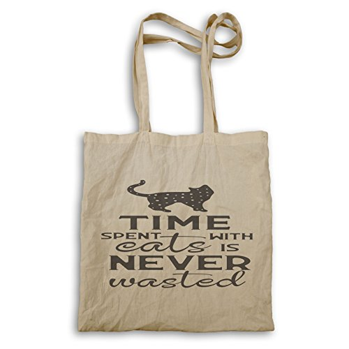 Il Tempo Trascorso Con I Gatti È Il Black Carrying Bag T364r