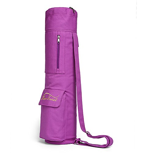 Yoga Mat Bag with Expandable Pocket,Best Bags for Yogo Mats, Yoga Strap and Exercise Mat