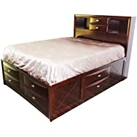 ACME 21600Q Ireland Bed, Queen, Espresso