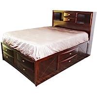 ACME 21600Q Ireland Bed, Queen, Espresso