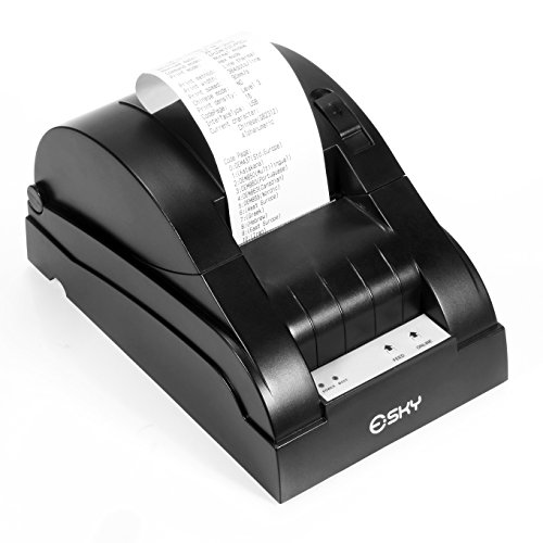 Esky High-speed 58mm USB Receipt Thermal Printer Compatible with ESC/POS Print Commands Set by Esky