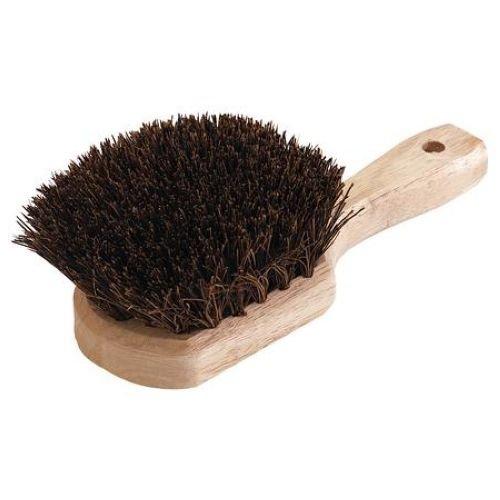 Carlisle Sparta Natural Fiber Utility Scrub Brush, 8 1/2 inch Length -- 1 each. ()