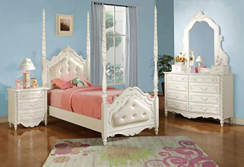 (ACME 01020 Pearl Dresser, Pearl White Finish )