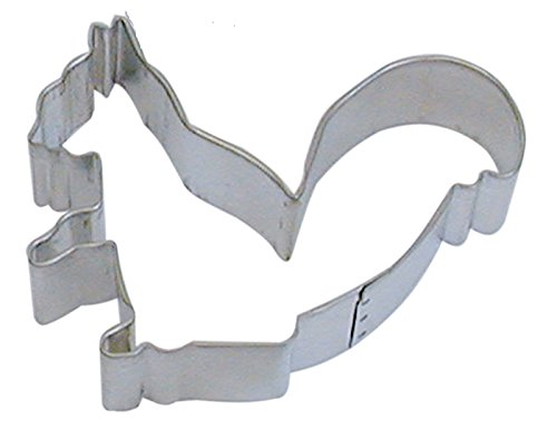 CybrTrayd R&M Squirrel Tinplated Steel Cookie Cutter, 3.75-Inch, Silver, Bulk Lot of 12