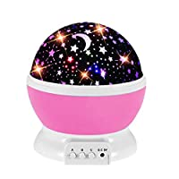 Toys for 2-9 Year Old Girls, Star Projector Night Light for Kids for 2-9 Year Old Girl Birthday Present Babies Baby Girl Toys Gifts 12-18 6 to 12 Months