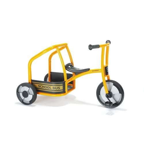 (Winther WIN-565 Carry-All School Bus - Kids Tricycle That Carry a Passenger, Kindergarten Grade to 2 Grade, 35.25