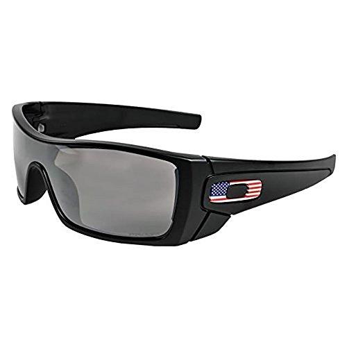 Oakley SI Batwolf Matte Black USA Flag Frame Prizm Black Lens OO9101-5927