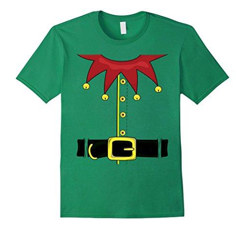 Mens Christmas Elf Costume - Santa's Elf T-Shirt
