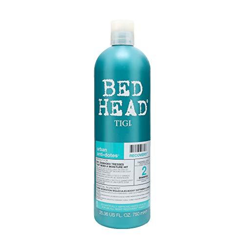 Tigi Bed Head Urban Anti+dotes Recovery Shampoo Damage Level 2, 25.36-Ounce (Head Recovery Bed Shampoo)