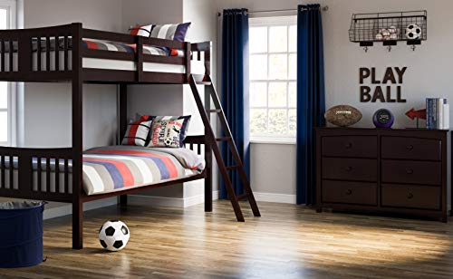 Storkcraft Caribou Solid Hardwood Twin Bunk Bed 1