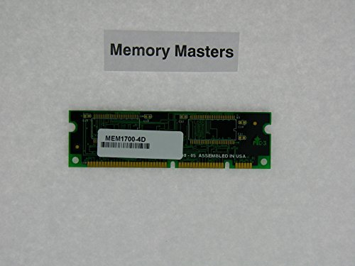(MEM1700-4D 4MB Approved DRAM Memory for Cisco 1700)