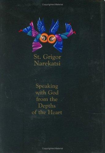 The Armenian Prayer Book of St. Gregory of Narek