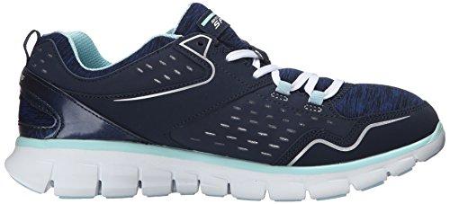 Skechers Sport Donna Sinergia Un Lister Fashion Sneaker Blu / Azzurro