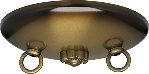 (Satco Bath Swag Canopy Kit Ant Brass Fin 5