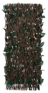 Compass Home Set of 2 Expandable Faux Ivy Privacy Fences by Compass Home