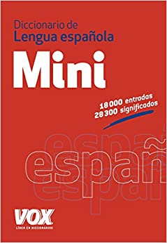 Book's Cover of Diccionario Mini de la Lengua Española (VOX - Lengua Española - Diccionarios Generales) (Español) Tapa blanda – 14 mayo 2015