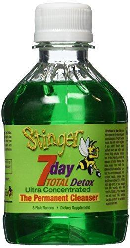 Stinger 7 Day Total Detox 8oz - 1 Week Supply by Stinger