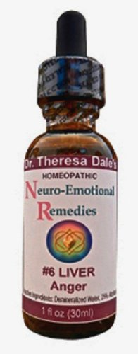 Dr. Dale's Homeopathic Neuro Emotional #6 Remedy for Anger and Frustration - Homeopathy (Homeopathic Depression)