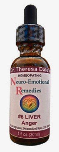 La colère neuro-émotionnelle N ° 6 du foie,  Homéopathie