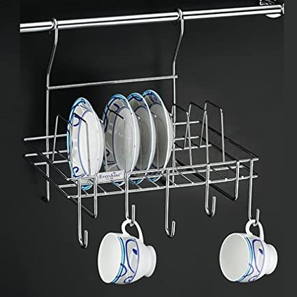 Kitchen Cabinet Accessory Hanging Plate Rack & Buy Kitchen Cabinet Accessory Hanging Plate Rack Online at Low ...
