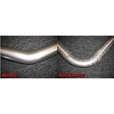 "2"" 45 Degree Exhaust Turbo Pipe Mandrel Bend Khaos Motorsports: Automotive"
