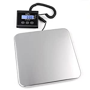 Weighmax Stainless Steel Industrial Digital Shipping Postal Scale 330 Pounds (W-4830)