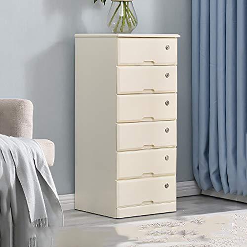 Armario de almacenamiento Armario Archivadores diversos Con cerraduras y cajones 4/5/6 piso Dormitorio de madera maciza Hogar...