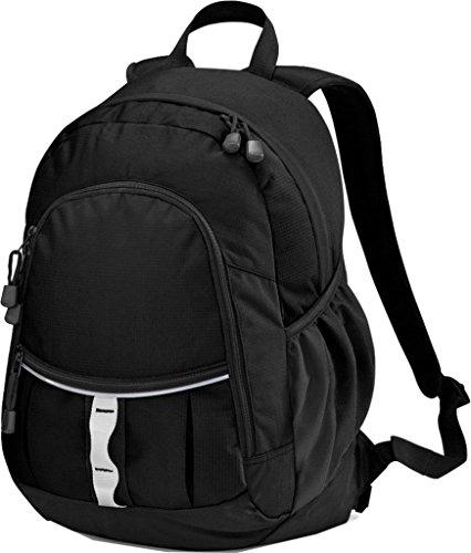 Unisex mochila de Persuit Quadra agilidad y velocidad enganchar una correa acolchado para viaje para el hombro negro