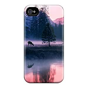 Fashion Protective Magic In The Water Case Cover For Iphone 4/4s by runtopwell