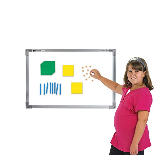 EAI Education Magnetic QuietShape Foam Base Ten: Assorted Colors - Set of 53 ()